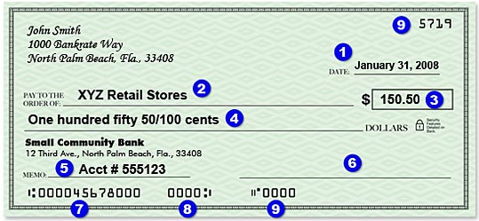How to fill out a check - Launch Knowledge