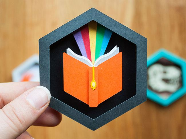 Printable paper patches