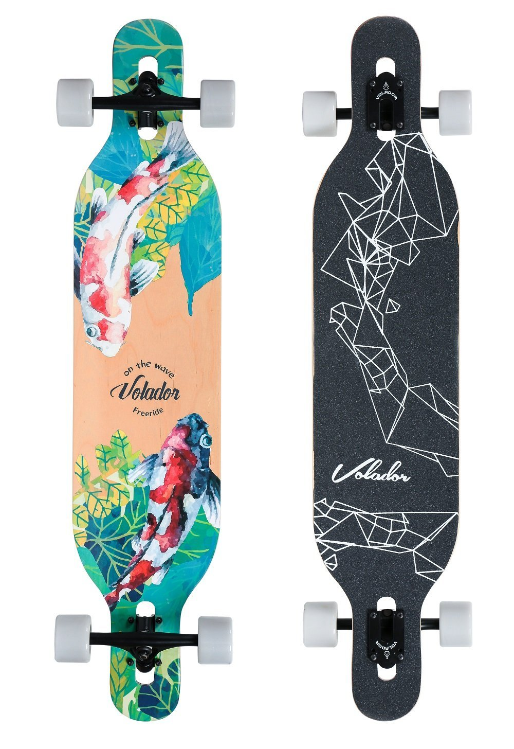 THE 42INCH FREERIDE LONGBOARD BY VOLADOR