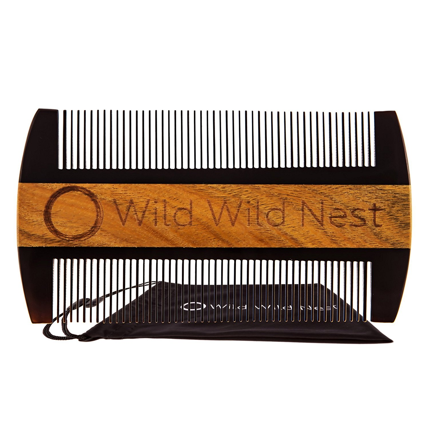 Wild Wild Nest Beard Comb, Pocket Size