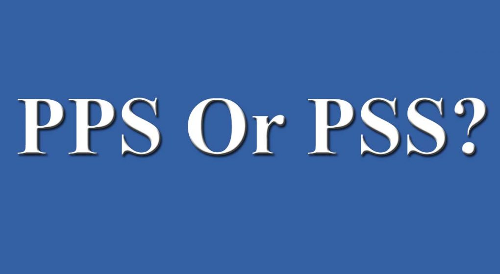 PPS Or PSS